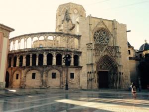 Die Kathedrale in Valencia