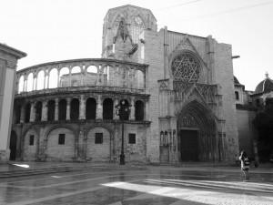 Nordseite der Kathedrale von Valencia